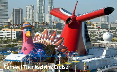 Carnival Thanksgiving cruise
