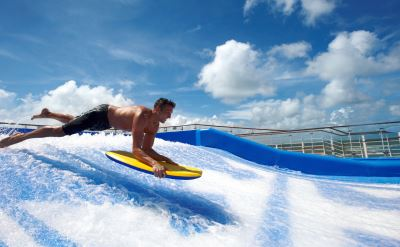 Royal Caribbean Oasis of the Seas flowrider